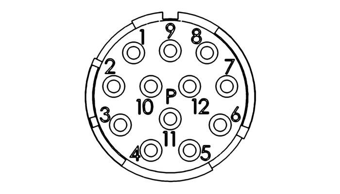 epic u00ae m23 inserts 12 pole d-sub